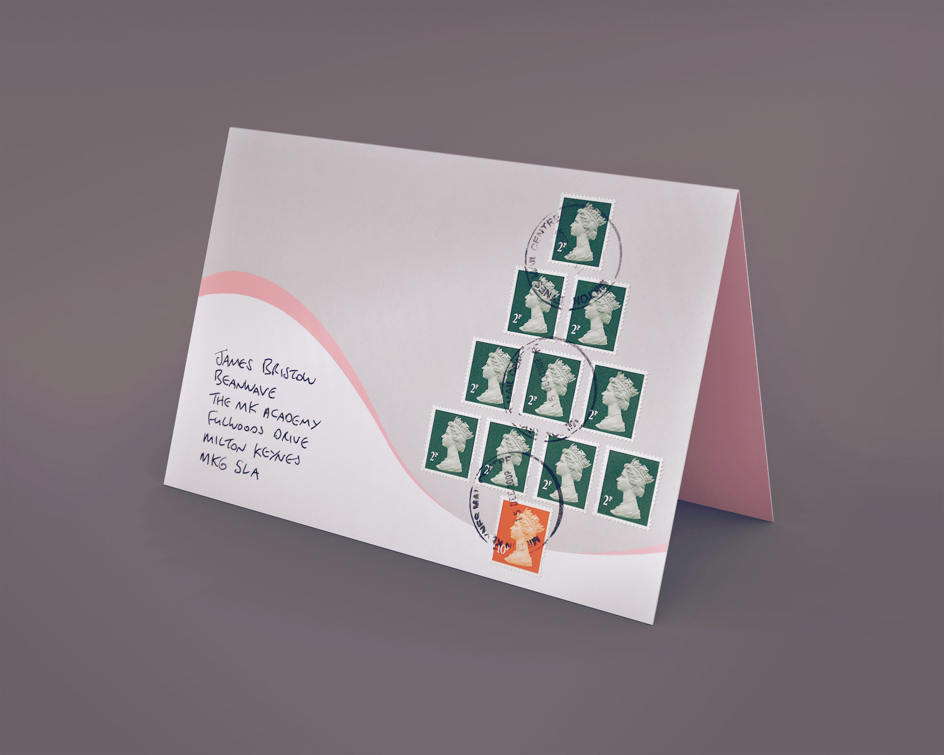 Agency Christmas Cards | Beanwave